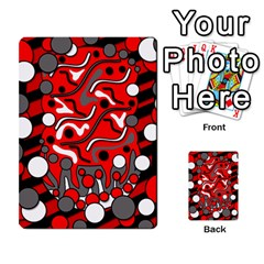Red mess Multi-purpose Cards (Rectangle)