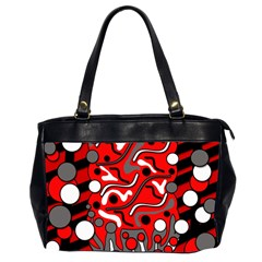Red mess Office Handbags (2 Sides)