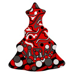 Red mess Ornament (Christmas Tree)