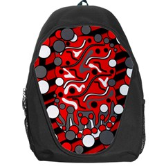Red mess Backpack Bag
