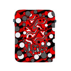 Red mess Apple iPad 2/3/4 Protective Soft Cases