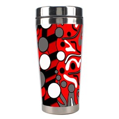 Red mess Stainless Steel Travel Tumblers