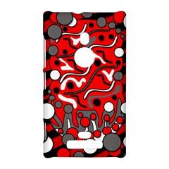 Red mess Nokia Lumia 925