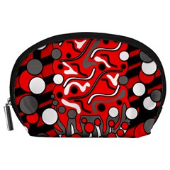 Red mess Accessory Pouches (Large)