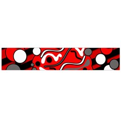 Red mess Flano Scarf (Large)