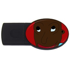 Happy boy USB Flash Drive Oval (1 GB)