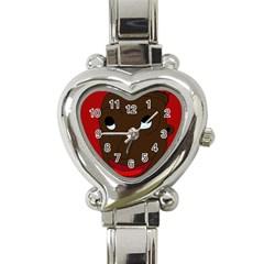 Happy boy Heart Italian Charm Watch
