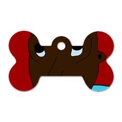 Happy boy Dog Tag Bone (Two Sides)