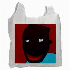 Happy boy Recycle Bag (One Side)