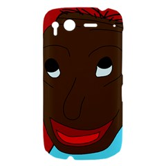 Happy boy HTC Desire S Hardshell Case