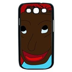 Happy boy Samsung Galaxy S III Case (Black)