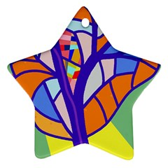 Decorative tree 4 Ornament (Star)