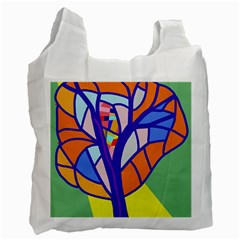 Decorative tree 4 Recycle Bag (Two Side)