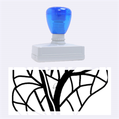 Decorative tree 4 Rubber Stamps (Large)
