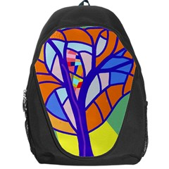 Decorative tree 4 Backpack Bag