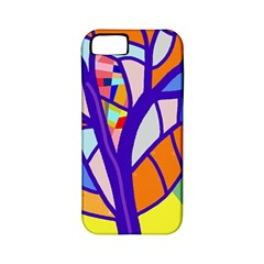 Decorative tree 4 Apple iPhone 5 Classic Hardshell Case (PC+Silicone)