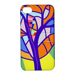 Decorative tree 4 Apple iPhone 4/4S Hardshell Case with Stand