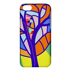 Decorative tree 4 Apple iPhone 5C Hardshell Case