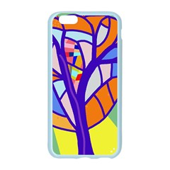 Decorative tree 4 Apple Seamless iPhone 6/6S Case (Color)
