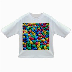 Funny Colorful Red Yellow Green Blue Kids Play Balls Infant/Toddler T-Shirts