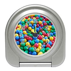 Funny Colorful Red Yellow Green Blue Kids Play Balls Travel Alarm Clocks