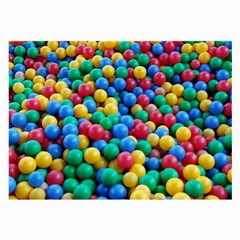 Funny Colorful Red Yellow Green Blue Kids Play Balls Large Glasses Cloth