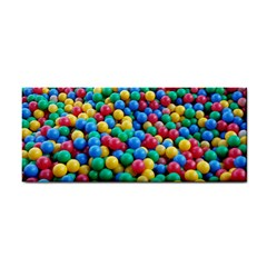 Funny Colorful Red Yellow Green Blue Kids Play Balls Hand Towel