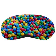 Funny Colorful Red Yellow Green Blue Kids Play Balls Sleeping Masks