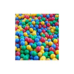 Funny Colorful Red Yellow Green Blue Kids Play Balls Shower Curtain 48  X 72  (small)