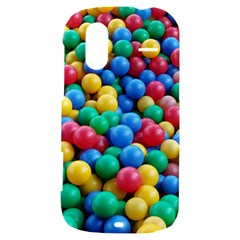 Funny Colorful Red Yellow Green Blue Kids Play Balls HTC Amaze 4G Hardshell Case
