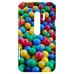 Funny Colorful Red Yellow Green Blue Kids Play Balls HTC Evo 3D Hardshell Case