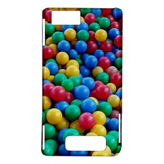 Funny Colorful Red Yellow Green Blue Kids Play Balls Motorola DROID X2