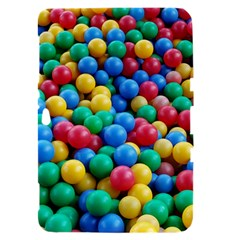 Funny Colorful Red Yellow Green Blue Kids Play Balls Samsung Galaxy Tab 8.9  P7300 Hardshell Case