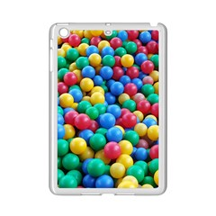 Funny Colorful Red Yellow Green Blue Kids Play Balls iPad Mini 2 Enamel Coated Cases