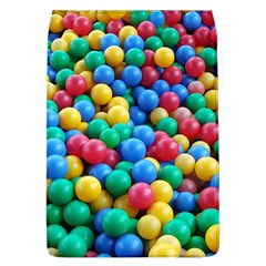 Funny Colorful Red Yellow Green Blue Kids Play Balls Flap Covers (L)