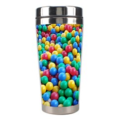 Funny Colorful Red Yellow Green Blue Kids Play Balls Stainless Steel Travel Tumblers