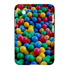 Funny Colorful Red Yellow Green Blue Kids Play Balls Samsung Galaxy Tab 2 (7 ) P3100 Hardshell Case