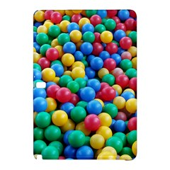 Funny Colorful Red Yellow Green Blue Kids Play Balls Samsung Galaxy Tab Pro 10.1 Hardshell Case