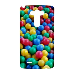 Funny Colorful Red Yellow Green Blue Kids Play Balls LG G3 Hardshell Case