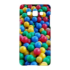 Funny Colorful Red Yellow Green Blue Kids Play Balls Samsung Galaxy A5 Hardshell Case