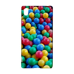 Funny Colorful Red Yellow Green Blue Kids Play Balls Sony Xperia Z3+