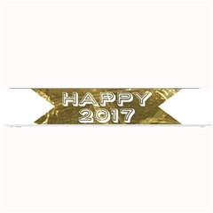 Happy New Year 2017 Gold White Star Small Bar Mats