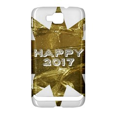 Happy New Year 2017 Gold White Star Samsung Ativ S i8750 Hardshell Case