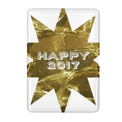 Happy New Year 2017 Gold White Star Samsung Galaxy Tab 2 (10.1 ) P5100 Hardshell Case