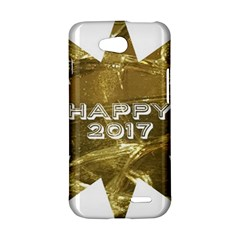 Happy New Year 2017 Gold White Star LG L90 D410