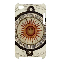 Ancient Aztec Sun Calendar 1790 Vintage Drawing Apple iPod Touch 4