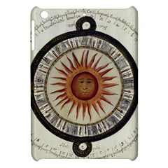 Ancient Aztec Sun Calendar 1790 Vintage Drawing Apple iPad Mini Hardshell Case