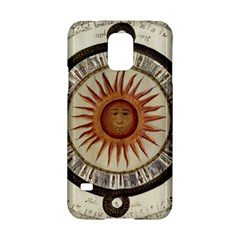 Ancient Aztec Sun Calendar 1790 Vintage Drawing Samsung Galaxy S5 Hardshell Case