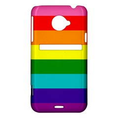 Colorful Stripes Lgbt Rainbow Flag HTC Evo 4G LTE Hardshell Case