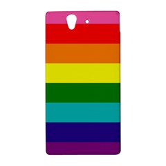 Colorful Stripes Lgbt Rainbow Flag Sony Xperia Z